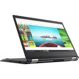 "Lenovo ThinkPad Yoga 370 20JH0024US 13.3"" Touchscreen LCD 2 in 1 Notebook - Intel Core i5 (7th Gen) i5-7200U Dual-core (2 Core) 2.50 GHz - 8 GB DDR4 SDRAM - 256 GB SSD - Windows 10 Pro 64-bit (English) - 1920 x 1080 - In-plane Switching (IPS) Technology - Black"