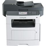 Lexmark MX517de Laser Multifunction Printer - Monochrome - Plain Paper Print - Desktop