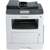 Lexmark MX417de Laser Multifunction Printer - Monochrome - Plain Paper Print - Desktop