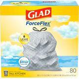 CLO78899 - Glad ForceFlex Tall Kitchen Drawstring Tras...