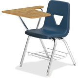 LLR99915 - Lorell Tablet Arm Study Top Student Combo Desks...