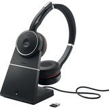 Jabra EVOLVE 75 with Charging Stand UC Stereo