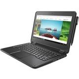 "Lenovo N24 Winbook 81AF0009US 11.6"" Touchscreen LCD Netbook - Intel Pentium N4200 Quad-core (4 Core) 1.10 GHz - 4 GB - 128 GB SSD - Windows 10 Pro 64-bit (English) - 1366 x 768 - Twisted nematic (TN) - Black"