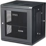 "StarTech.com 12U 19"" Wall Mount Network Cabinet - 16"" Deep Hinged Locking Flexible IT Data Equipment Rack Vented Switch Enclosure w/Shelf"