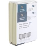 BSN26741PK - Business Source Wirebound Steno Noteboo...