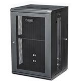 "StarTech.com 18U 19"" Wall Mount Network Cabinet - 16"" Deep Hinged Locking Flexible IT Data Equipment Rack Vented Switch Enclosure w/Shelf"
