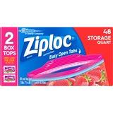 SJN665015 - Ziploc® Brand Seal Top Quart Storage Bags