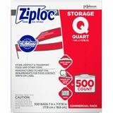 SJN682256 - Ziploc® Brand Seal Top Quart Storage Bags