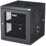 "StarTech.com 12U 19"" Wall Mount Network Cabinet - 20"" Deep Hinged Locking IT Data Enclosure - Flexible Vented Rack w/Shelf - Switch Depth"