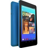 """Ematic EGQ373 Tablet - 7"""" - 1 GB Quad-core (4 Core) 1.20 GHz - 16 GB - Android 7.1 Nougat - 1024 x 600 - Teal"""