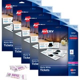 AVE16154CT - Avery® Perforated Raffle Tickets with Tea...