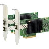 Lenovo ThinkSystem Emulex LPe32002-M2-L PCIe 32Gb 2-Port SFP+ Fibre Channel Adapter
