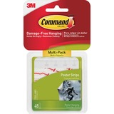 MMM1702448ES - Command™ Poster Strips, Multi-Pack 48 s...