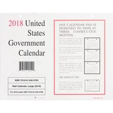 UCR5453763 - Unicor Fed Monthly Wall Calendar