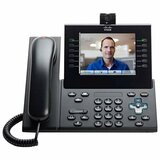 Cisco Spare Handset for 8900 or 9900 Series, Charcoal, Standard
