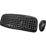 Adesso WKB-1330CB- 2.4 GHz Wireless Desktop Keyboard and Mouse Combo