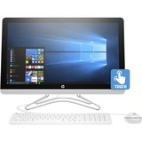 "HP 24-e000 24-e030 All-in-One Computer - Intel Core i5 (7th Gen) i5-7200U 2.50 GHz - 8 GB DDR4 SDRAM - 1 TB HDD - 23.8"" 1920 x 1080 Touchscreen Display - Windows 10 Home 64-bit - Desktop - Snow White"