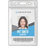 AVT75684 - Advantus Vinyl ID Badge Holders