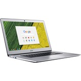 """Acer Chromebook 15 CB515-1HT-C82N 15.6"""" Touchscreen LCD Chromebook - Intel Celeron N3450 Quad-core (4 Core) 1.10 GHz - 4 GB LPDDR4 - 32 GB Flash Memory - Chrome OS - 1920 x 1080 - In-plane Switching (IPS) Technology, CineCrystal - Pure Silver"""