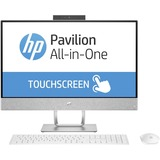 "HP Pavilion 24-x000 24-x010 All-in-One Computer - AMD A-Series (7th Gen) A9-9420 3 GHz - 8 GB DDR4 SDRAM - 1 TB HDD - 23.8"" 1920 x 1080 Touchscreen Display - Windows 10 Home 64-bit - Desktop - Blizzard White"