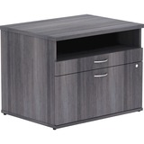 LLR16213 - Lorell Relevance Series Charcoal Laminate Offic...