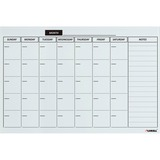 Lorell Monthly Planner Magnetic Dry-erase Board