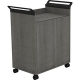 LLR59647 - Lorell Laminate Mobile Storage Cabinet