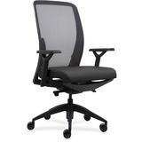 LLR83104 - Lorell Executive Mesh Back/Fabric Seat Task C...