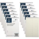 BSN90650PK - Business Source Green Tint Steno Notebook
