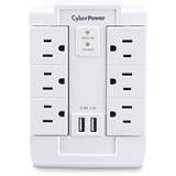 CyberPower Professional CSP600WSURC2 6 Outlets Surge Suppressor/Protector