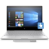 """HP Spectre x360 13-ae000 13-ae015ca 13.3"""" Touchscreen LCD 2 in 1 Notebook - Intel Core i5 (8th Gen) i5-8250U Quad-core (4 Core) 1.60 GHz - 8 GB LPDDR3 - 256 GB SSD - Windows 10 Home 64-bit - 1920 x 1080 - In-plane Switching (IPS) Technology, Sure View - Convertible - Natural Silver"""