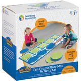 LRNLER6651 - Learning Resources 10-frame Floor Mat Activit...