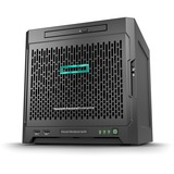 HPE ProLiant MicroServer Gen10 Ultra Micro Tower Server - 1 x AMD Opteron X3421 Quad-core (4 Core) 2.10 GHz - 8 GB Installed DDR4 SDRAM - 4 TB (4 x 1 TB) Serial ATA/600 HDD - Serial ATA/600 Controller - 0, 1, 10 RAID Levels - 1 x 200 W