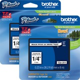 BRTTZE211BD - Brother P-touch TZe Laminated Tape Cartridg...
