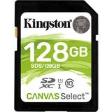 Kingston Canvas Select 128 GB Class 10/UHS-I (U1) SDXC