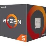 AMD Ryzen 5 2600 Hexa-core (6 Core) 3.40 GHz Processor - Socket AM4 - Retail Pack