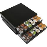 EMSDBMTRAYBLK - Mind Reader 72-pod Coffee Storage