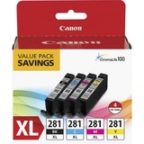 CNMCLI281XBKCMY - Canon CLI-281XL Original Ink Cartridge ...