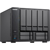 "QNAP 9-bay Hybrid NAS Supporting 3.5"" & 2.5"" Drives with Dual 10GbE Ports"