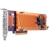 QNAP Quad M.2 2280 PCIe (Gen2 x4) NVMe SSD Expansion Card