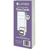 LTHE14100 - Lathem Model 400E Double Sided Time Cards