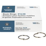 BSN01438 - Business Source Standard Book Rings