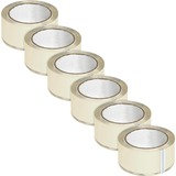 BSN64013 - Business Source Crystal Clear Packaging Tape