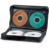 VER70105 - Verbatim CD/DVD Storage Wallet ­64 ct. Black