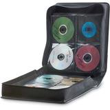 VER70107 - Verbatim CD/DVD Storage Wallet 256 ct. Black