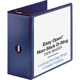 BSN26978 - Business Source Navy D-ring Binder