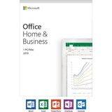 Microsoft Office 2019 Home & Business - Box Pack - NA/PR/TT Only Medialess