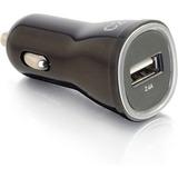 C2G 1-Port USB Car Charger, 2.4A Output