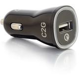 C2G 1-Port Quick Charge 2.0 USB Car Charger