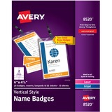AVE8520 - Avery® Vertical Name Badges with Durabl...